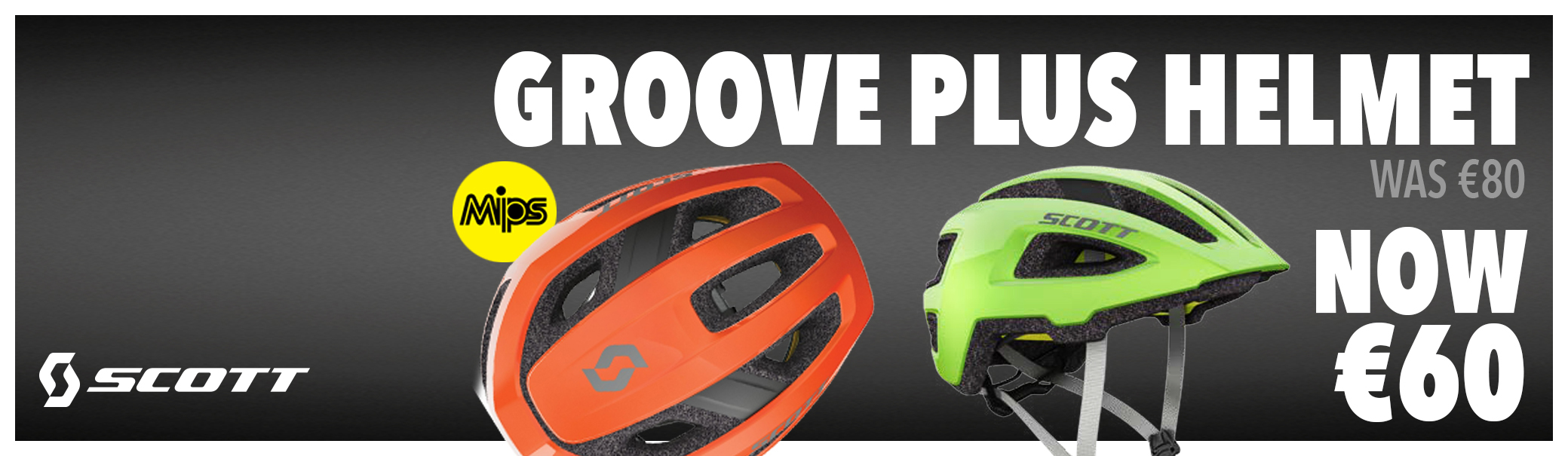 Scott Groove Helmet Special Offer