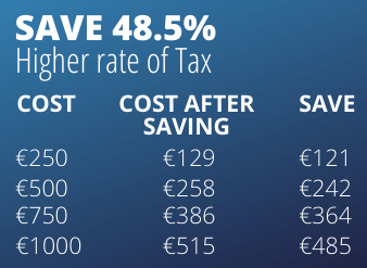Higher tax savings