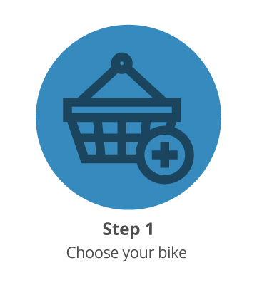 Step 1: Order your bike and accessories
