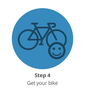 Step 4: Get your bike