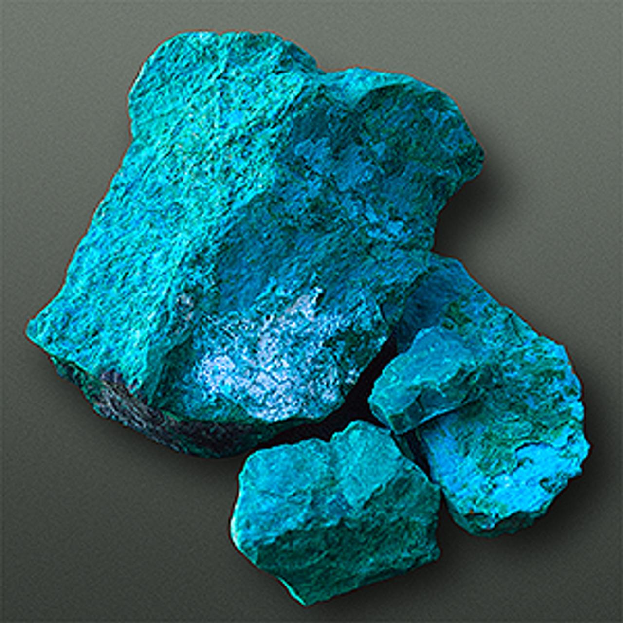 Chrysocolla pigments