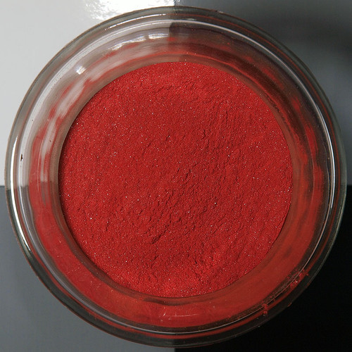 Cinnabar pigment - medium