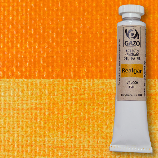 Via Gazo Realgar oil paint