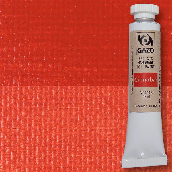 Via Gazo Cinnabar oil paint