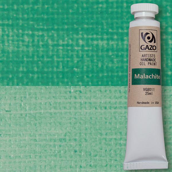 Via Gazo Malachite oil paint