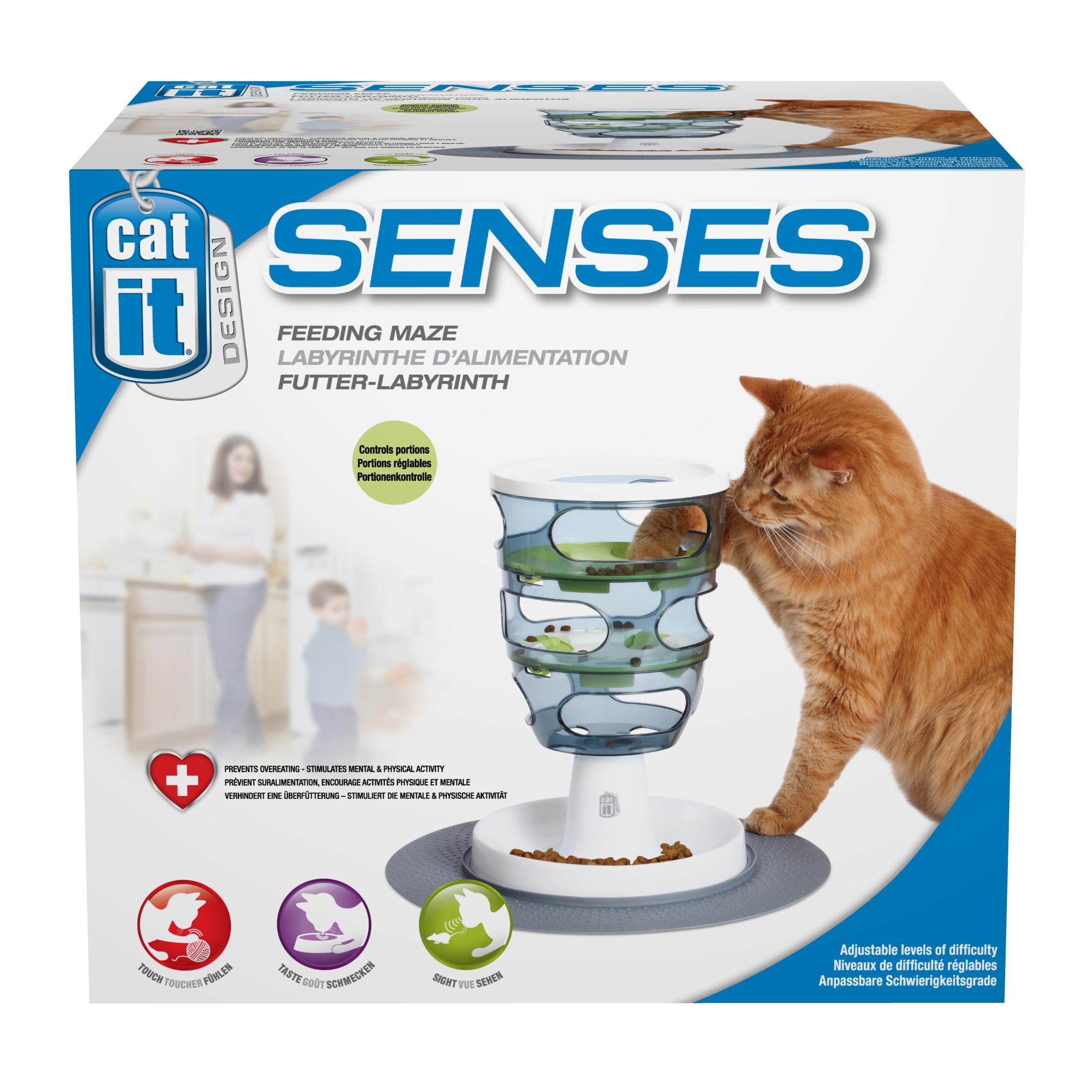 Catit Cat Senses Food Maze Cat Food Dispenser Peto