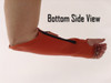 Extended Elbow Leather Arm Chaps in Safety Orange (Starting at per pair)