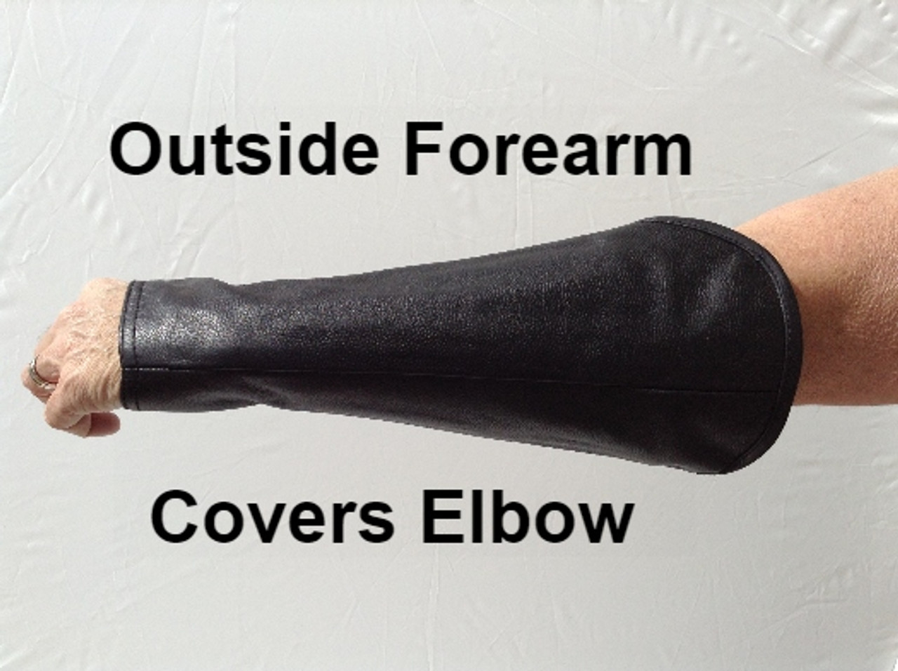 Welding Arm Chaps in Black (starting at per pair)