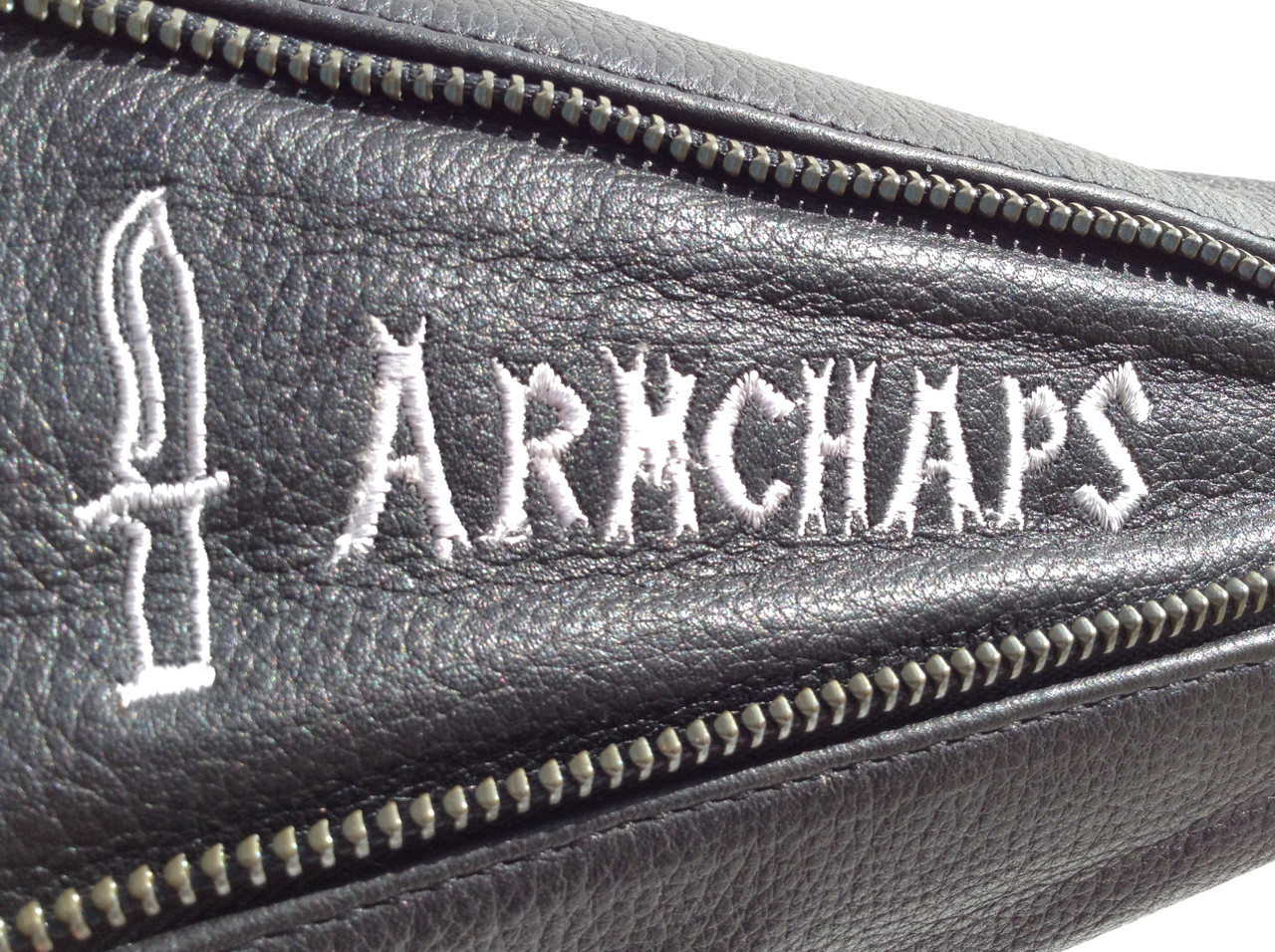 High Cut-Level Arm Chaps in Black (Prices vary depending on Size!)