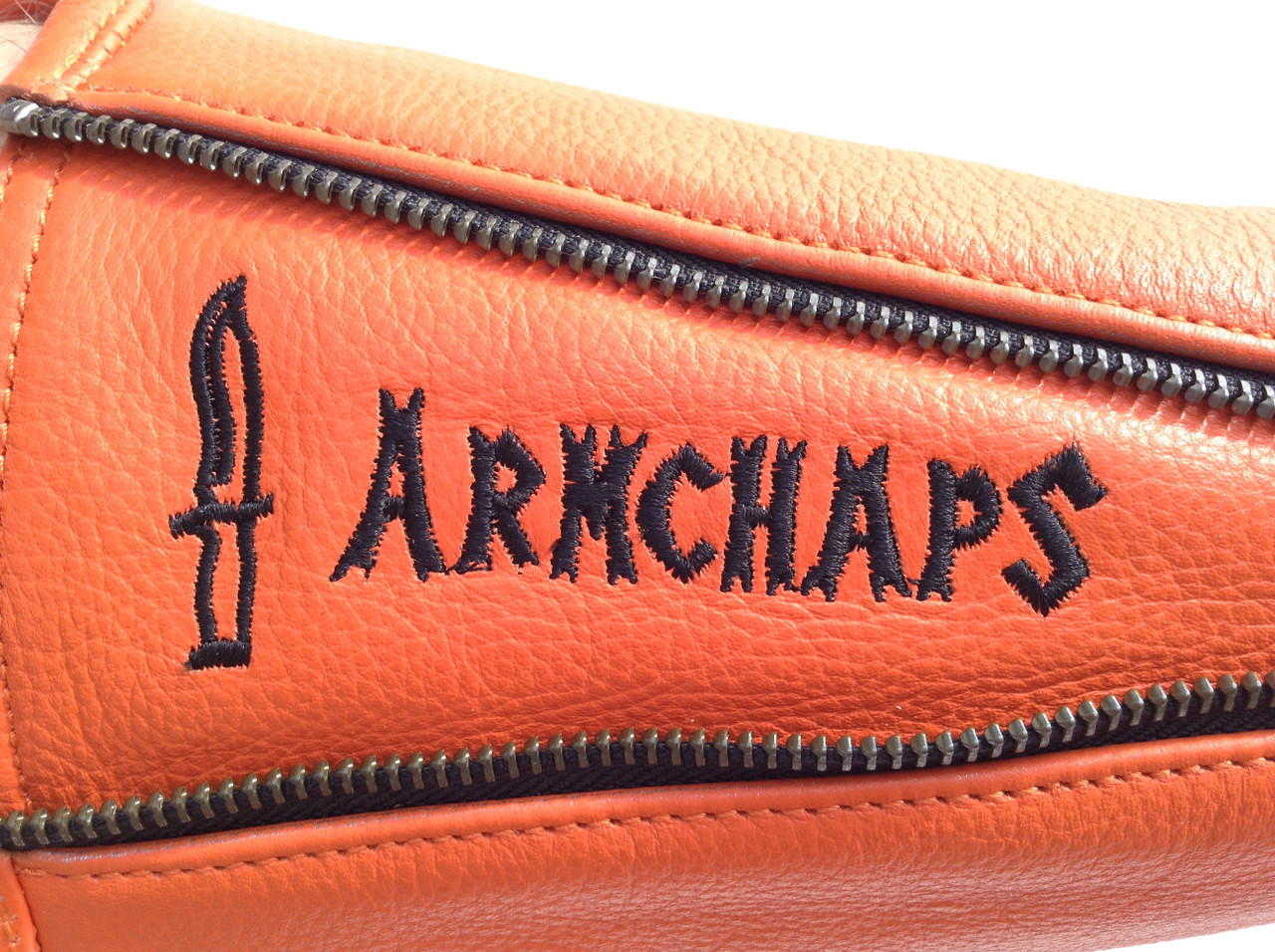 High Cut-Level Arm Chaps in Safety Orange (Prices vary depending on Size!)