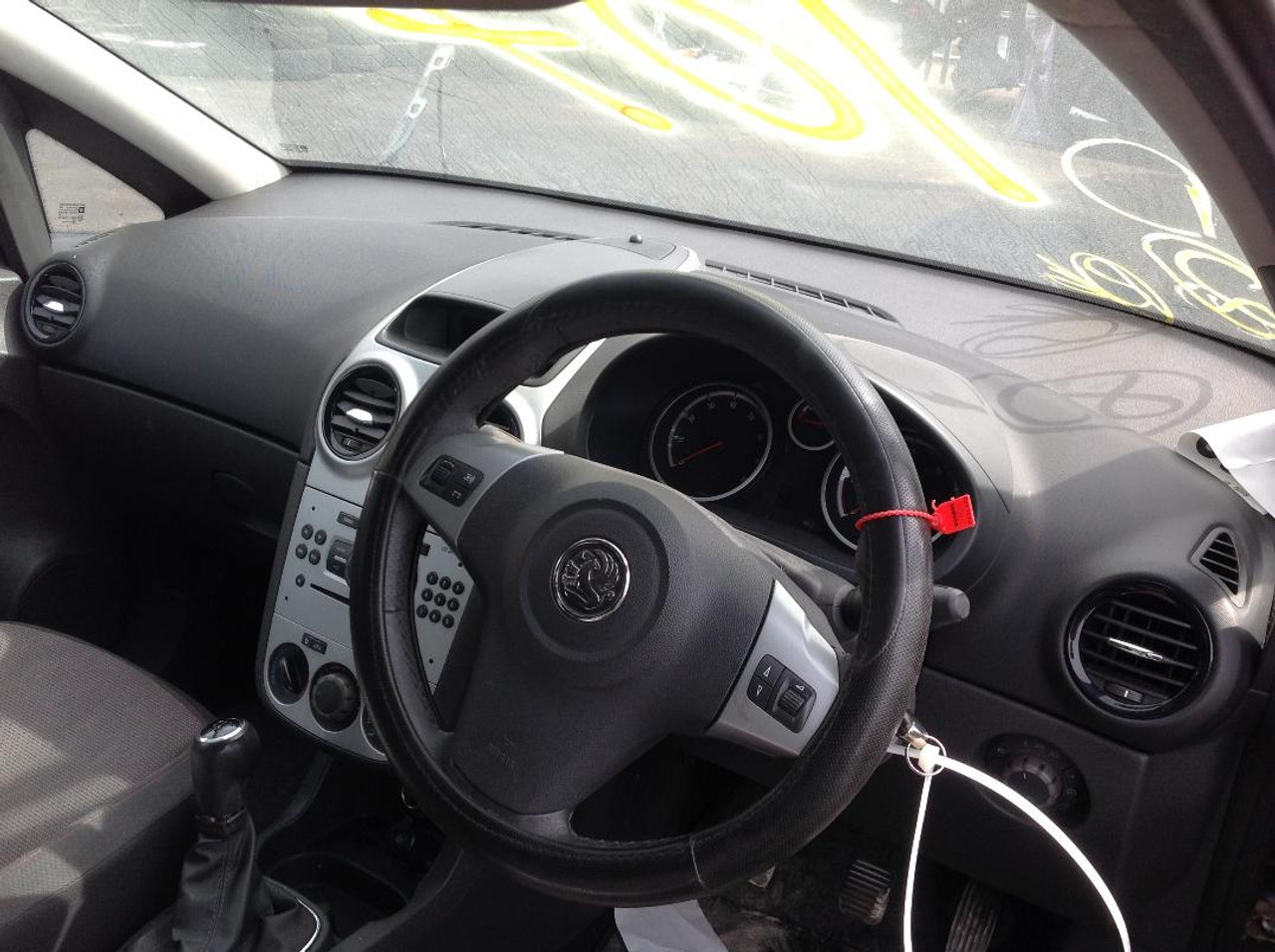 VAUXHALL CORSA D 5DR HATCH COMPLETE AIRBAG KIT