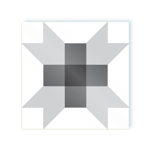 Cross shades of grey moodulor adhesive tiles 1