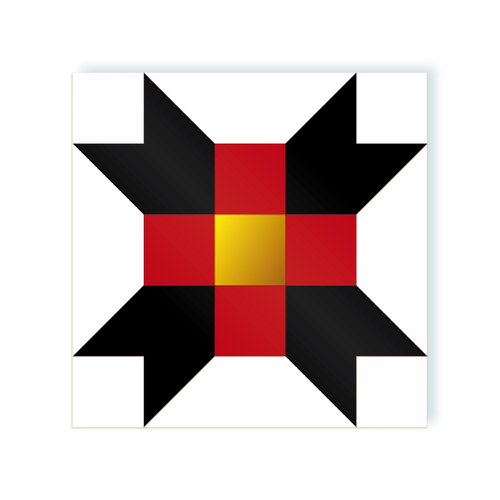 Cross Maverik Gold moodulor adhesive tiles 1