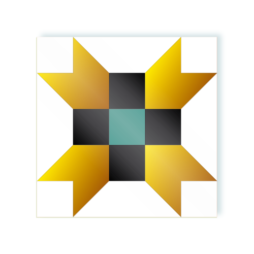 Cross Aqua Gold moodulor adhesive tiles 1