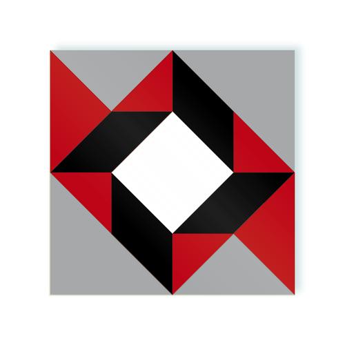 Rombo A Maverik Pipster moodulor adhesive tiles 1