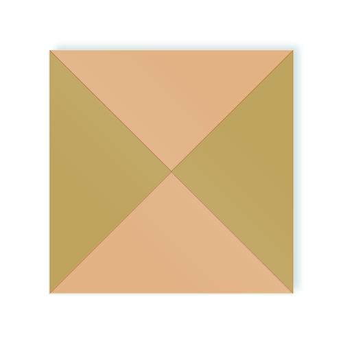 Duo adhesive tiles of moodulor
