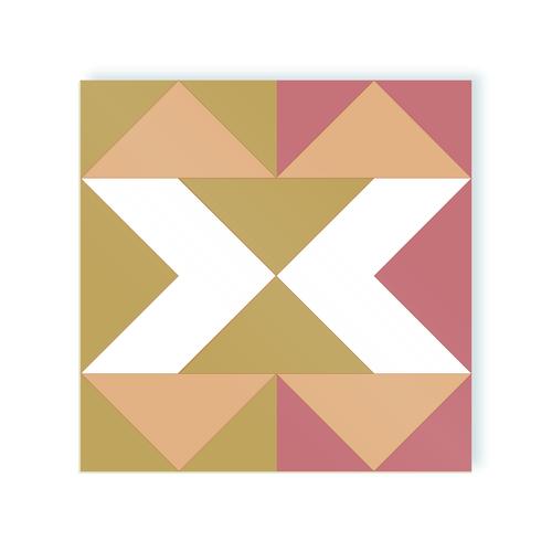Clessidra adhesive tiles of moodulor