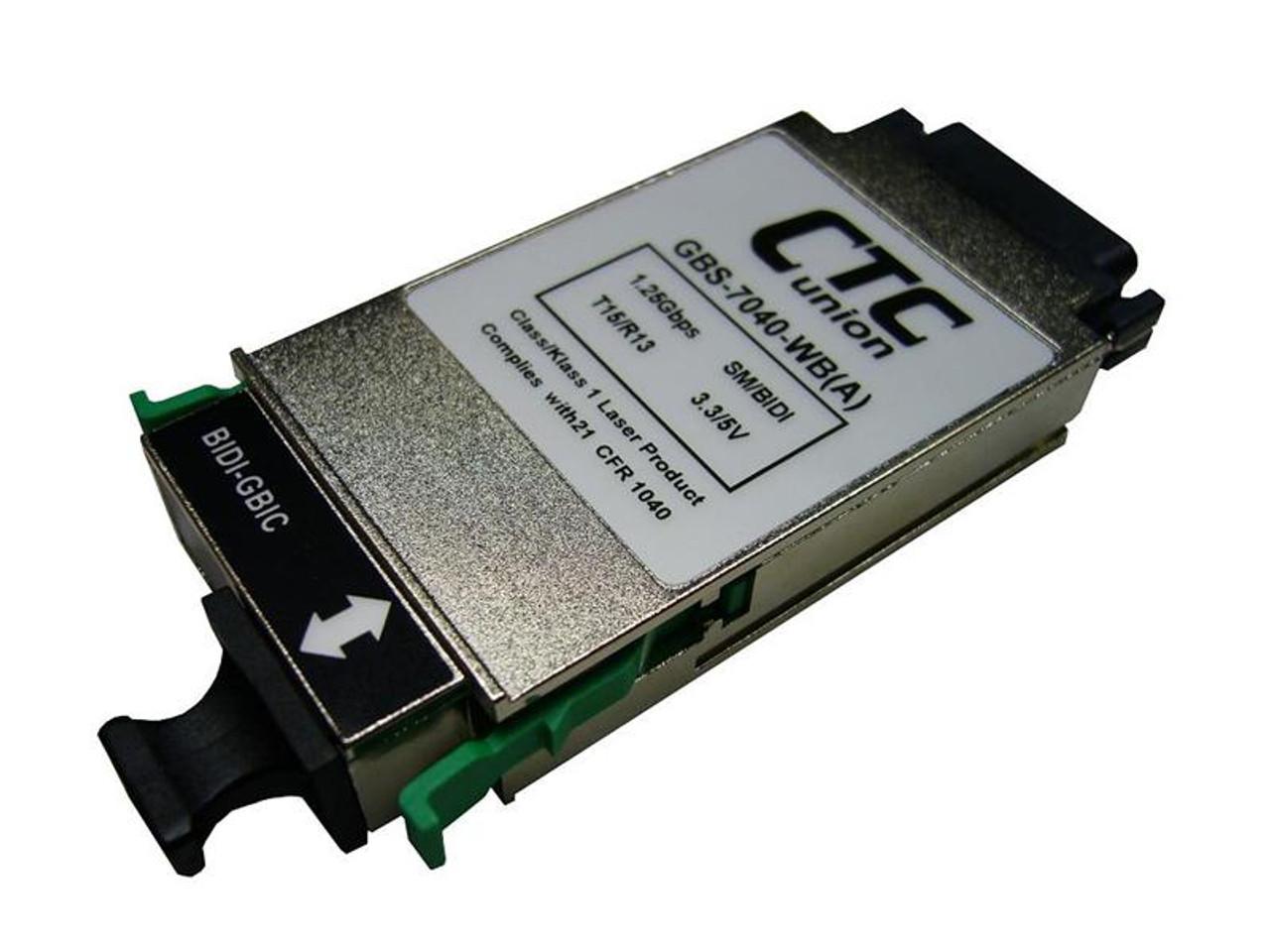 SFP module transceiver Gigabit WDM single strand BiDi B 20Km Tx:1550//Rx:1310nm