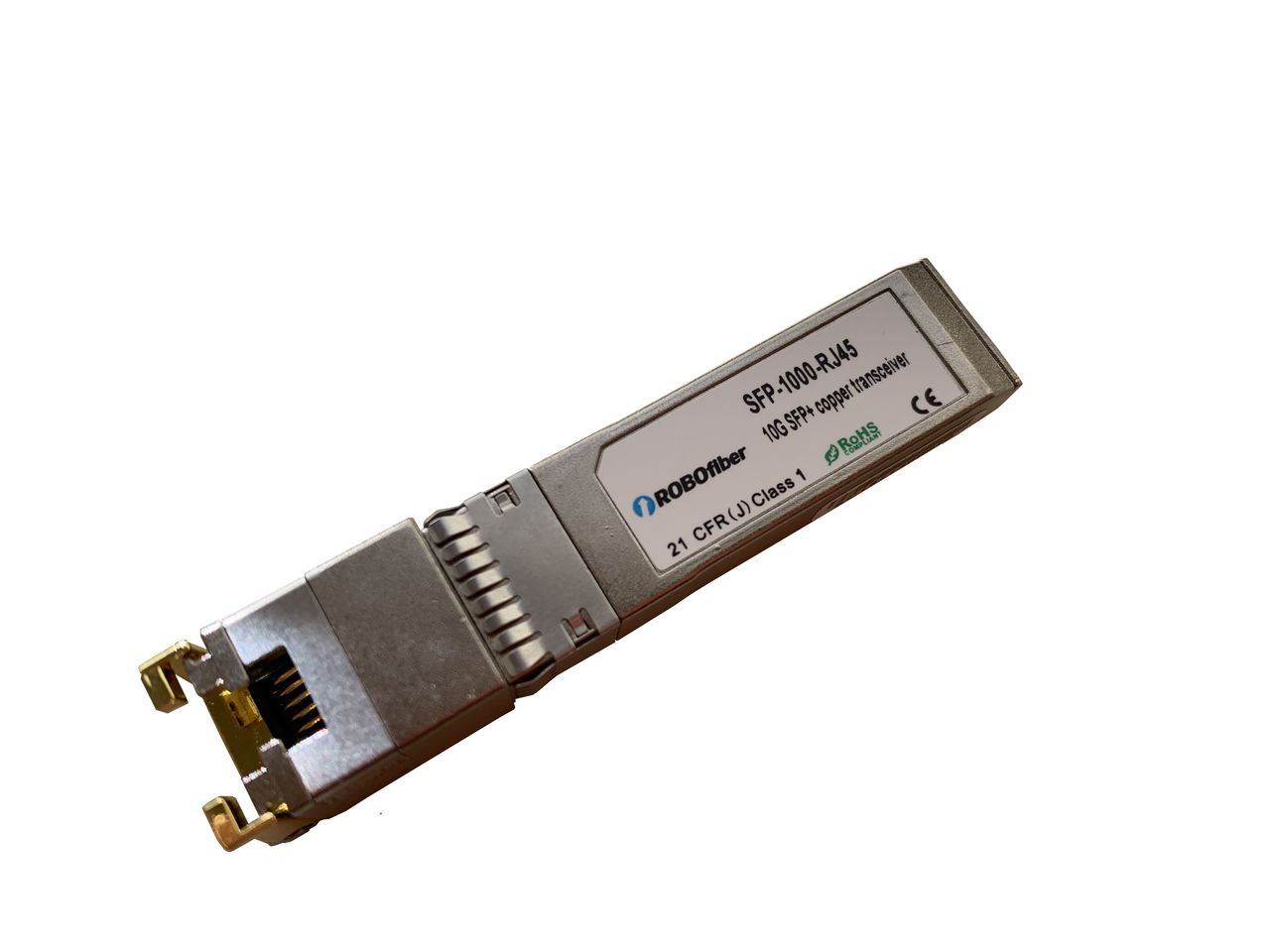SFP-1000-RJ45 - 10GBase-T copper SFP+ transceiver module, Cisco ready