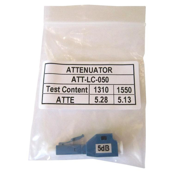 LC in-line optical attenuator for 5dB
