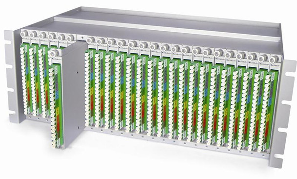 """SML-4000-CH high density chassis for SML-40 series CWDM mux/demux cards, rack 19"""", 4RU"""