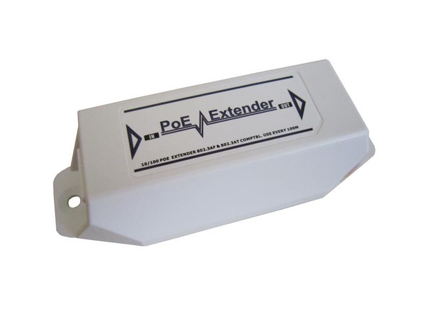 RB-EXTGE-101 Gigabit Ethernet Industrial grade PoE 100m reach extender, cascadable