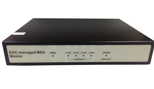 EOC-30M - Ethernet over Coax LAN Extender, managed master unit over a coaxial segment using EoCNA, shares cable with CATV