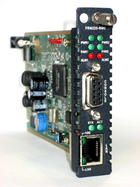FRM220-NMC - Network Management Card for the FRM220 chassis