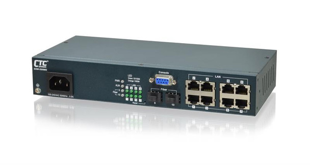 GSW-3208M2 - Gigabit Enterprise Ethernet 8+2 SFP combo ports, L2 web/SNMP managed switch