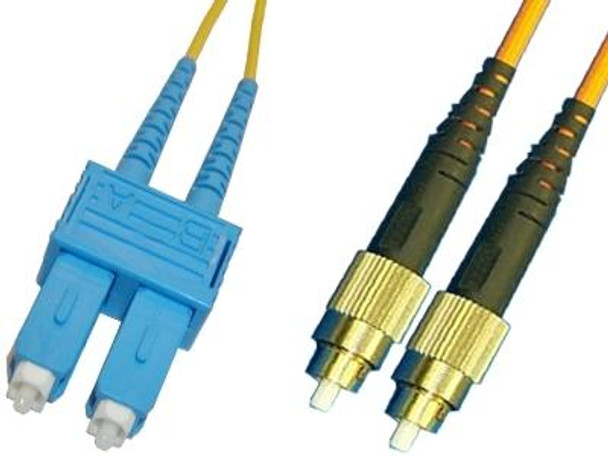 SCP-FCP-SD9 - SC/UPC to FC/UPC singlemode 9/125 duplex fiber optic patch cord cable