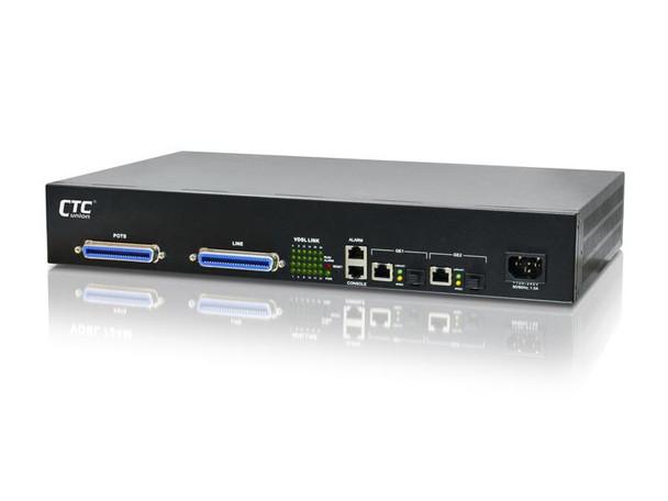 "VDSM2-1524 VDSL2 mini DSLAM 24 ports rack 19"" 1.5RU, 2 x 1G uplinks"