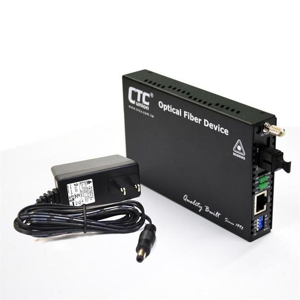 FRM220-10/100i-SC40B Fast Ethernet WDM BiDi single strand singlemode managed fiber media converter, 40Km B type