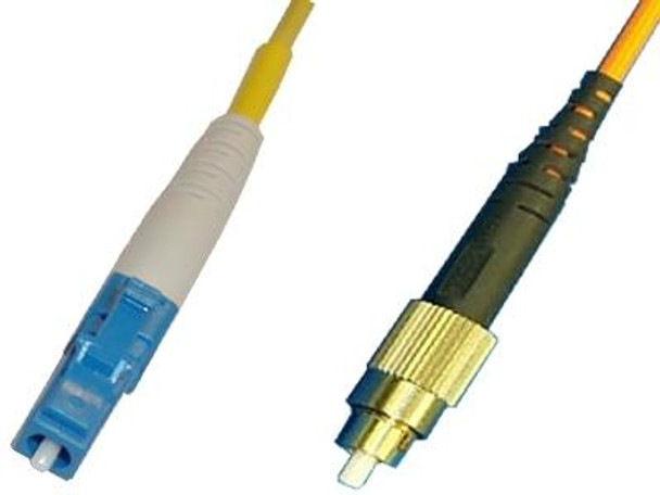 LCP-FCP-SS9 - LC/UPC to FC/UPC, singlemode 9/125 simplex fiber optic patch cord cable