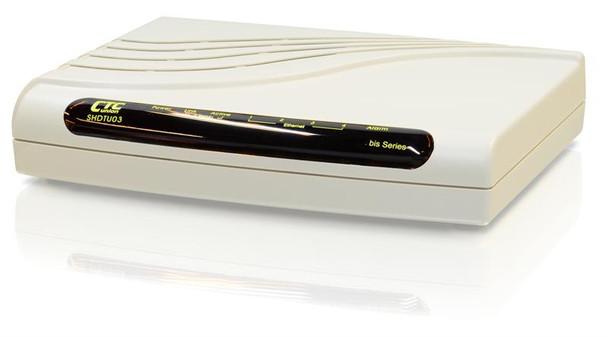 SHDTU03bF-ET10RS LAN Extender 2 wire 5.7Mbps G.SHDSL.bis ATM modem router, AC powered