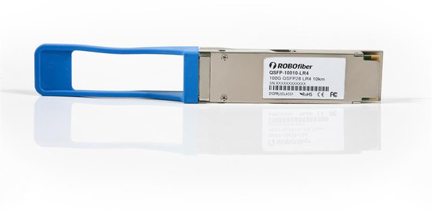 QSFP28 100G LR4 optical module, single-mode, CWDM 4 aggregate 25G channels, 10Km, QSFP-10010-LR4
