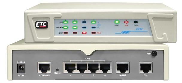 EFM-10 G.shdsl.bis 2-wire LAN Extender - 5.7Mbps Ethernet bridge modem - up to 4.9mi loop length on 26 AWG wires