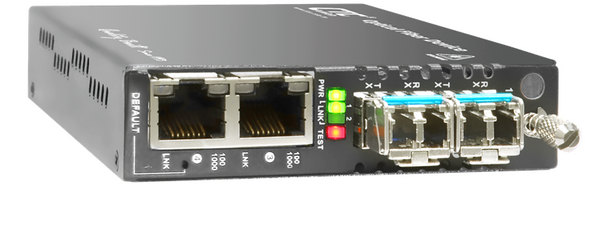 FRM220A-1002ES Industrial grade Gigabit Ethernet 4 port switch with web based management support