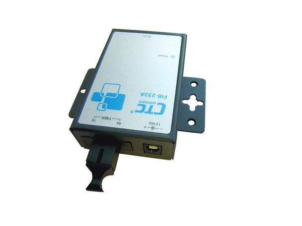 FIB-232A-SC20B - RS-232 over single strand singlemode WDM fiber media converter, BiDi, SC connector, 20Km range, Tx:1550/Rx:1310nm