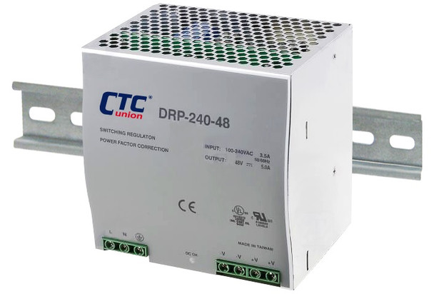 MD-24048 AC to DC 48V 240W Industrial DIN rail power supply