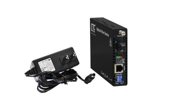 FRM220-FXO-FXS-SC20B POTS RJ11 over fiber converter, telephone line extender, single strand BiDi B type 20Km