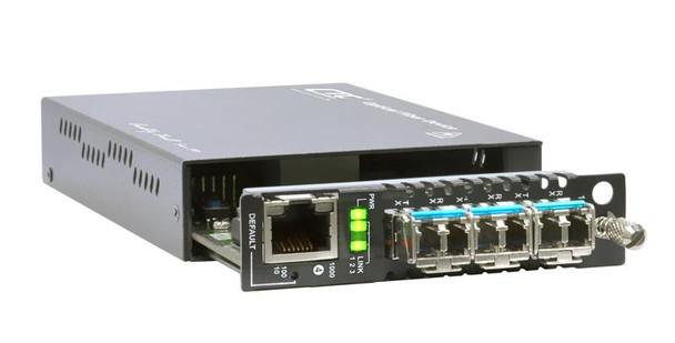 FRM220-MX210 4 port EDD switch OAM - 3 SFP slots + 10/100/1000Base-Tx port