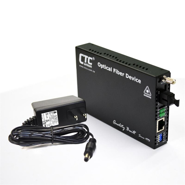 FRM220-10/100i-SC40A Fast Ethernet WDM BiDi single strand singlemode managed fiber media converter, 40Km A type