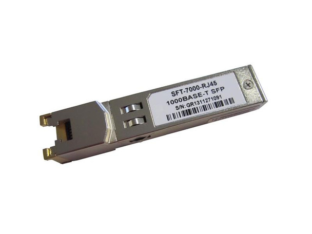 SFT-7000-RJ45 1000Base-T only Gigabit copper SFP transceiver