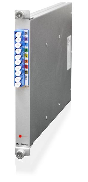 SML-40-MD80-1, CWDM passive mux/demux, 8:1 simplex channels over fiber