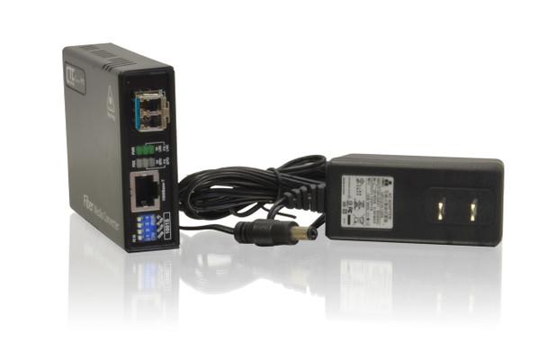 FMC-1001S-MM Gigabit Ethernet 1000Base-SX multimode fiber media converter, LC, 550m