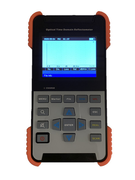 """OTDR-3501 - Optical Time Domain Reflectometer - includes VFL 1mW, 3.5"""" LCD TFT, internal storage memory and USB connectivity"""