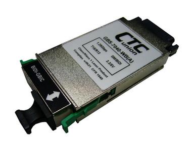 1310//1550nm Cisco ready SFP Gigabit transceiver WDM single strand BiDi A 20Km
