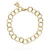 18K Arno Link Bracelet- Yellow Gold