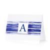 Initial Notecard - Signature Stripe