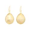 Piece Aura Earring - Gold/ Pyrite